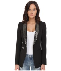 Philipp Plein Studded Blazer Black