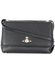 Vivienne Westwood Large Balmoral Shoulder Bag Black