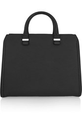 Victoria Beckham The Matte Leather Tote Black Usd