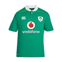 Canterbury Of New Zealand Ireland Home Classic Rugby Jersey Green