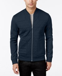 Inc International Concepts Men's Roman Lightweight Quilted Jacket Only At Macy's Basic Navy