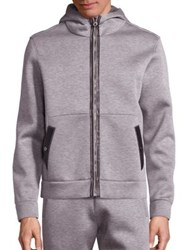 Salvatore Ferragamo Long Sleeve Jacket Grey