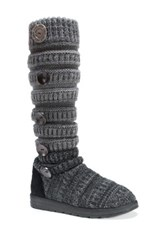 Muk Luks Kalie Sweater Boot Black