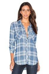 Rails Carter Button Down Blue