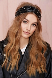 Nasty Gal Heads Up Vegan Leather Headband