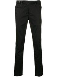 Al Duca D'aosta 1902 Straight Leg Trousers Black