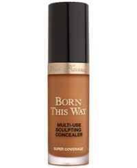 Too Faced Born This Way Super Coverage Multi Use Sculpting Concealer Toffee Deepest With Golden Undertones