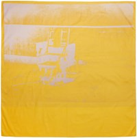 Calvin Klein 205W39nyc Yellow Little Electric Chair Scarf
