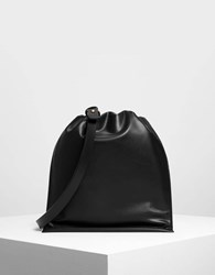 Charles And Keith Two Way Backpack Black