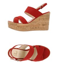 Le Stelle Footwear Sandals Women Red