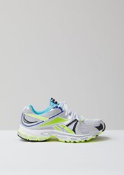 Vetements Spike Runner 200 Sneakers White Silver Lime White Silver Lime