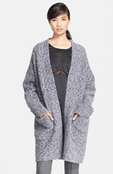 Rag And Bone Women's Rag And Bone 'Diana' Wool Blend Sweater Coat
