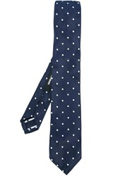 Dsquared2 Polka Dot Tie Blue