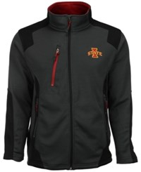 Colosseum Men's Iowa State Cyclones Double Coverage Jacket Charcoal