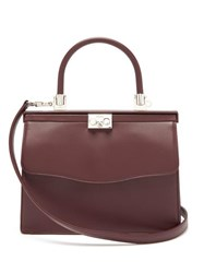 Rodo Paris Medium Leather Bag Burgundy
