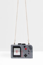 Urania Gazelli Gameboy Sparkle Clutch Red