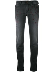 Just Cavalli Star Print Jeans Black