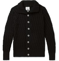 S.N.S. Herning Stark Wool Cardigan Black