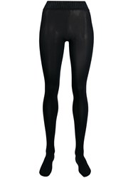 Wolford Contrasting Waistband Tights 60