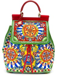 Dolce And Gabbana Printed Backpack