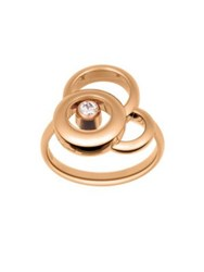 Chopard Happy Dreams Diamond And 18K Rose Gold Ring