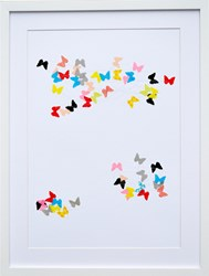 K Studio Colored Butterflies Wall Art Various