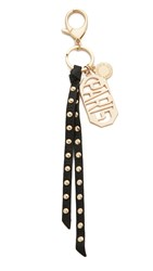 Rebecca Minkoff Paris Key Fob Black Light Gold