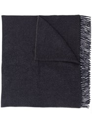 Canada Goose Elongated Wide Scarf Blue
