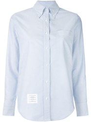 Thom Browne Oxford Shirt Blue