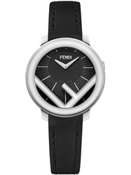 Fendi F Logo Watch Black