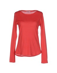 Kangra Cashmere Topwear T Shirts Women Red