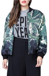 Rachel Roy Plus Size Women's Bomber Jacket