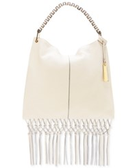 Vince Camuto Libby Hobo Feather White