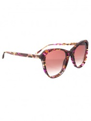 Wildfox Brown Parker Deluxe Sunglasses