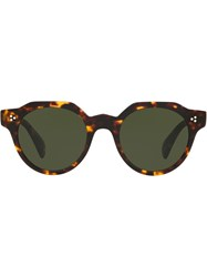 Oliver Peoples Irven Sunglasses Green