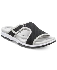 Easy Street Shoes Easy Street Garbo Sandals Women's Shoes Black Combo