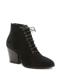 Andre Assous Florencia Suede Ankle Boots Black