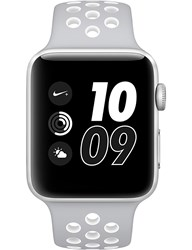 Apple Series 2 Silver And White 42Mm Watch Nike Silver White