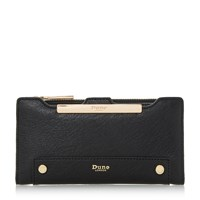 Dune Kessica Slim Line Purse With Removable Card Holde Black