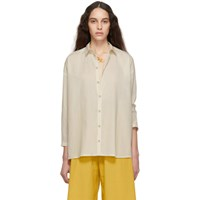 Toogood Off White 'The Draughtsman' Shirt