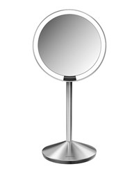 5' Sensor Makeup Mirror With Travel Case Simplehuman