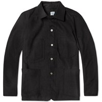 Post Overalls Engineers Jacket Black