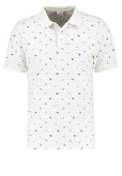 Jack And Jones Jorrodeo Slim Fit Polo Shirt Cloud Dancer Off White