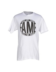 Hall Of Fame T Shirts White