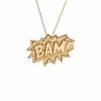 Edge Only Bam Pendant Extra Large In Gold