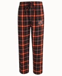 Concepts Sport Men's Cincinnati Bengals Ultimate Flannel Sleep Pants Black