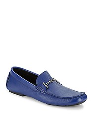 Bugatchi Monza Leather Driving Moccasins Marino