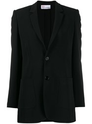 Red Valentino Notched Lapels Single Breasted Blazer 60