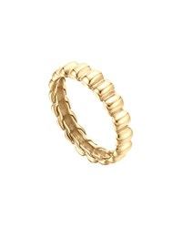 Bedeg Slim Band Ring Gold John Hardy Green