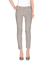 Malloni Trousers Casual Trousers Women Grey